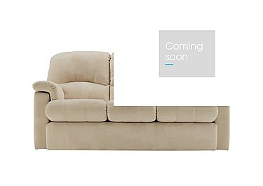 Chloe 3 Seater Small Fabric Sofa in C020 Checkers Oyster on FV