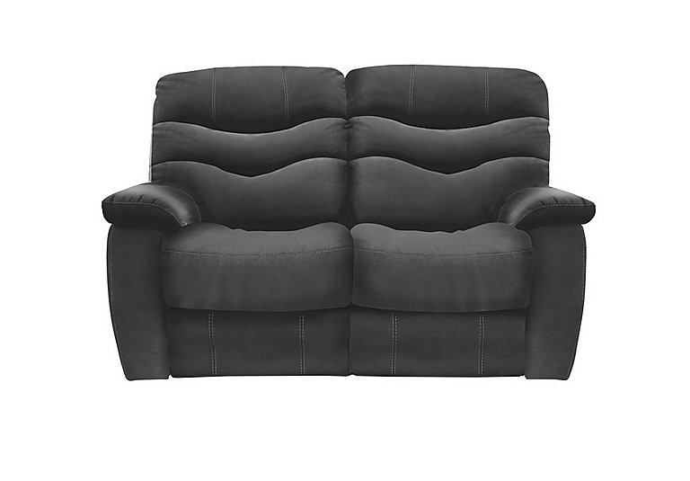 Relax Station Cozy 2 Seater Fabric Recliner Sofa
