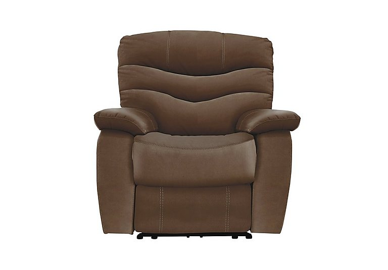 Relax Station Cozy Fabric Recliner Armchair