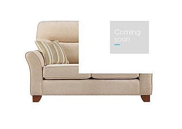 Gemma 2 Seater Fabric Sofa in A071 Boucle Oyster on FV