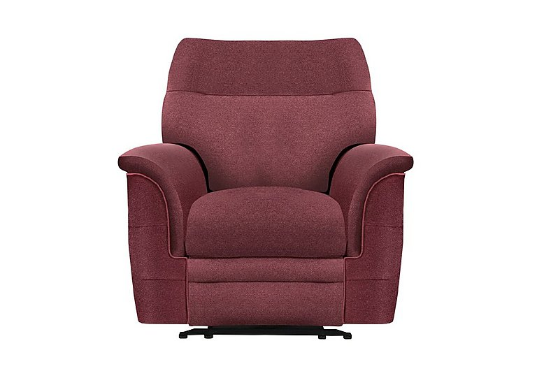 hudson large fabric recliner sofa chocolate. Black Bedroom Furniture Sets. Home Design Ideas