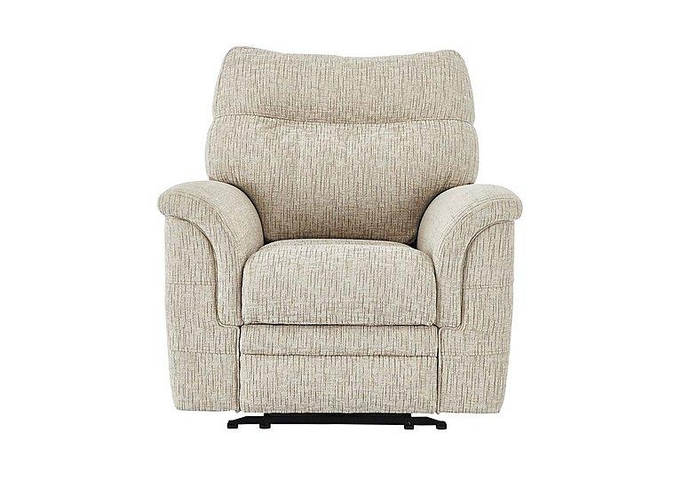 Hudson Fabric Recliner Armchair