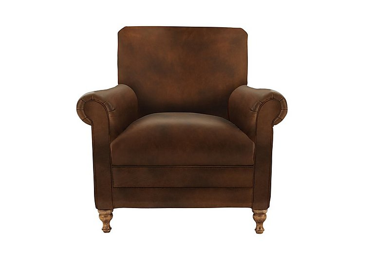 New England Knox Leather Armchair