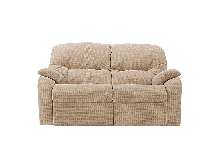 Mistral 2 Seater Fabric Recliner Sofa in B719 Naples Cream on FV