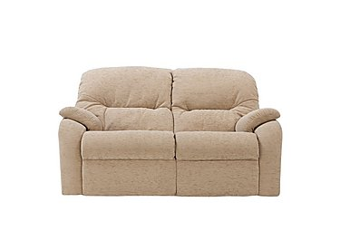Mistral 2 Seater Fabric Recliner Sofa in B719 Naples Cream on Furniture Village