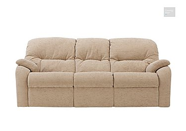 Mistral 3 Seater Fabric Recliner Sofa  in {$variationvalue}  on FV