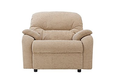 Mistral Fabric Recliner Armchair in B719 Naples Cream on FV
