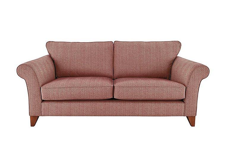 High Street Regent Street 3 Seater Fabric Sofa  in {$variationvalue}  on FV