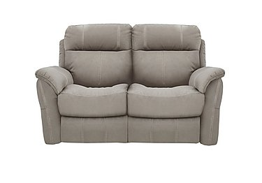 Relax Station Revive 2 Seater Fabric Recliner Sofa in Bfa-Blj-R946 Silver Grey on FV