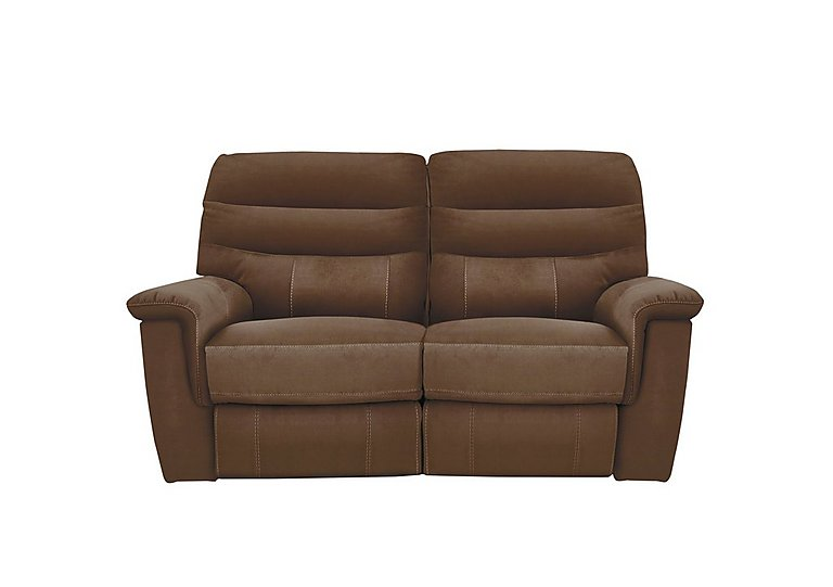 Relax Station Serenity 2 Seater Fabric Recliner Sofa