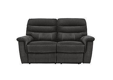 Relax Station Serenity 2 Seater Fabric Recliner Sofa in Bfa-Blj-R16 Grey on FV
