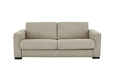 Siesta 2.5 Seater Fabric Sofa Bed in Bfa-Raf-20 Oatmeal on Furniture Village