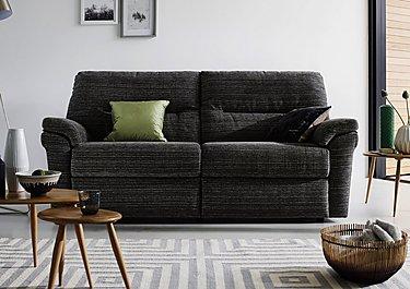 Washington 3 Seater Fabric Recliner Sofa in  on FV