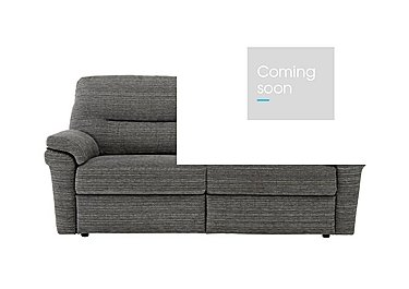 Washington 3 Seater Fabric Recliner Sofa in B902 Victoria Grey on FV