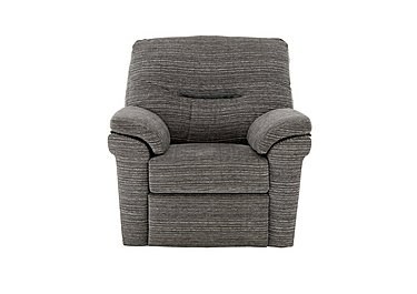 Washington Fabric Recliner Armchair in B902 Victoria Grey on FV