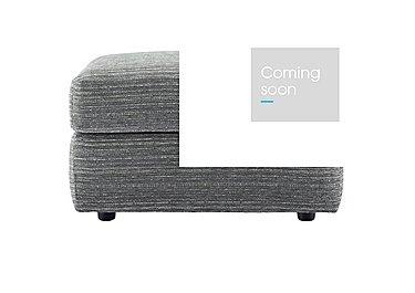 Washington Fabric Storage Footstool in B902 Victoria Grey on FV