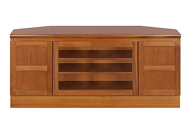 Classic Corner TV Unit in Teak on FV