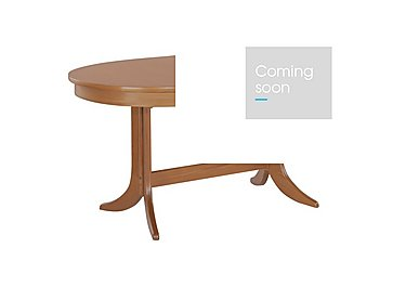 Classic Oval Extending Dining Table in Teak on FV