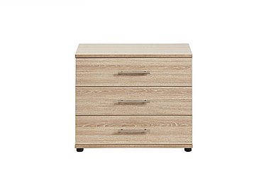 Amari 3 Drawer Large Chest in Kkv - King Oak on FV