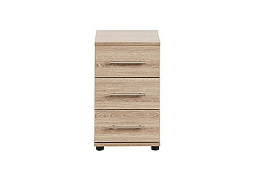 Amari 3 Drawer Narrow Chest in Kkv - King Oak on Furniture Village