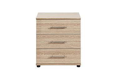Amari 3 Drawer Wide Chest in Kkv - King Oak on FV