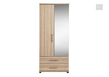 Amari 2 Door Mirrored Gents Wardrobe  in {$variationvalue}  on FV