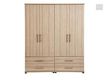 Amari 4 Door Gents Wardrobe  in {$variationvalue}  on FV