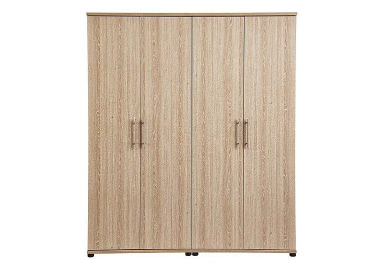 Amari 4 Door Wardrobe in Kkv - King Oak on FV