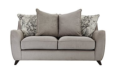 Carrara 2 Seater Fabric Sofa in Livorno Fawn Marble Mist Df on FV