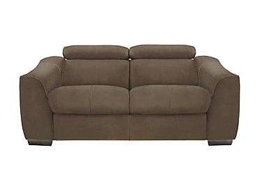 Elixir 2 Seater Fabric Recliner Sofa in Bfa-Blj-R04 Tobacco on FV