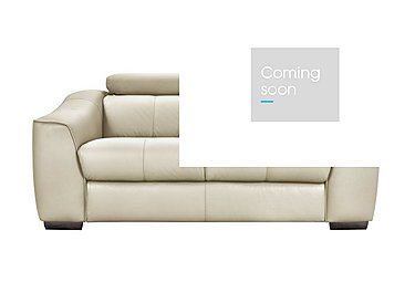 Elixir 2 Seater Leather Recliner Sofa in Bv3550 Light Beige See Comment on FV