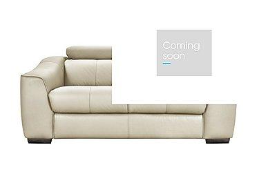 Elixir 2 Seater Leather Recliner Sofa in Bv3550 Light Beige See Comment on FV