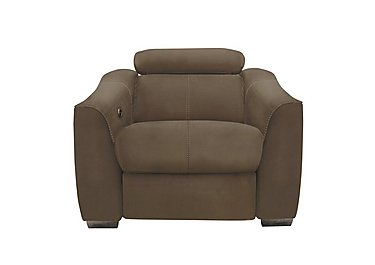 Elixir Fabric Recliner Armchair in Bfa-Blj-R04 Tobacco on Furniture Village