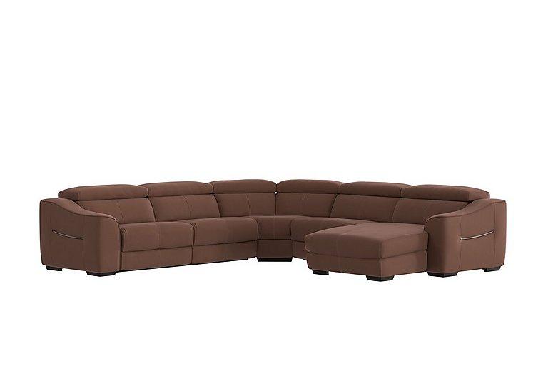 Elixir Fabric Recliner Corner Sofa