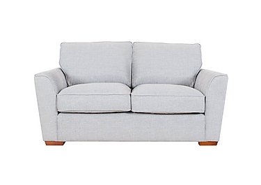 Fable 2 Seater Fabric Sofa in Barley Silver All Over Lht Ft on FV