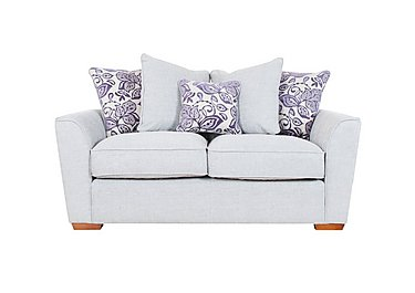 Fable 2 Seater Fabric Sofa in Barlery Silver Cyprus Purp Lht on FV