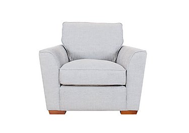 Fable Fabric Armchair in Barley Silver Light on FV