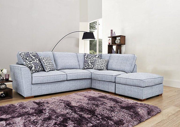 Furniture Village Sofas fable fabric corner sofa - furniture village