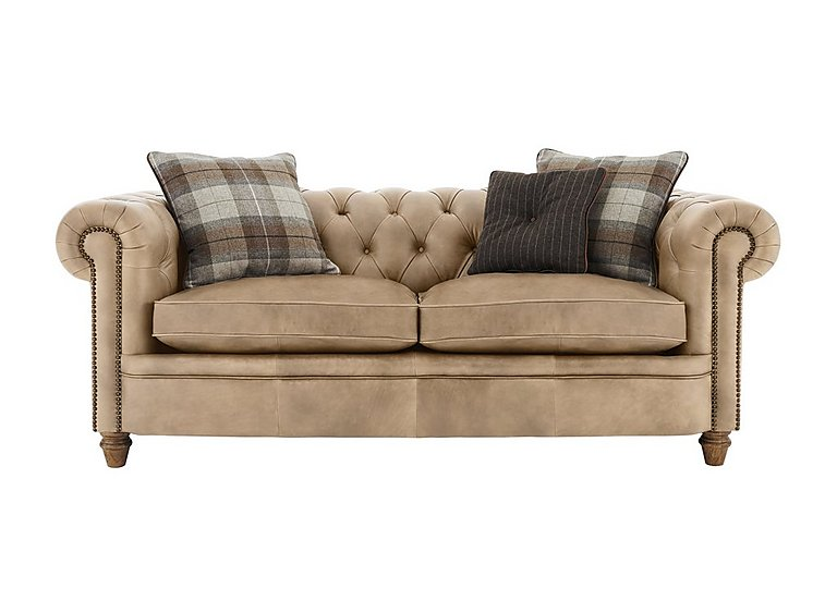 New England Newport 2 Seater Leather Sofa