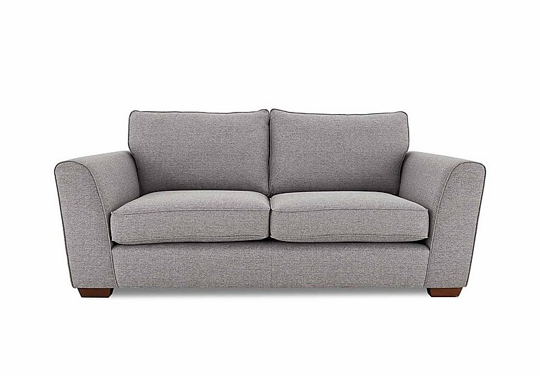 High Street Oxford Street 2 Seater Fabric Sofa Bed in Salta  Ash on Furniture Village