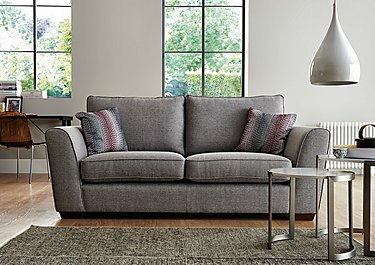 High Street Oxford Street 3 Seater Fabric Sofa Bed in  on Furniture Village