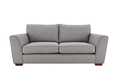 High Street Oxford Street 3 Seater Fabric Sofa in Salta  Ash on FV