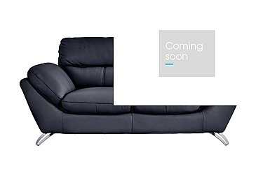 Salvador 2 Seater Leather Sofa in 200/37 Atlantic Heather on FV