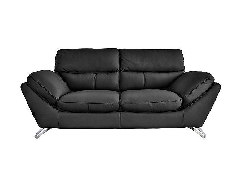 Salvador 3 Seater Leather Sofa