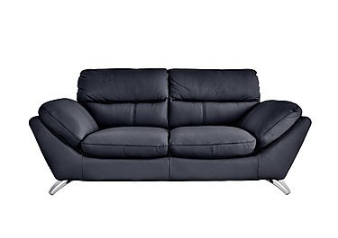 Salvador 3 Seater Leather Sofa