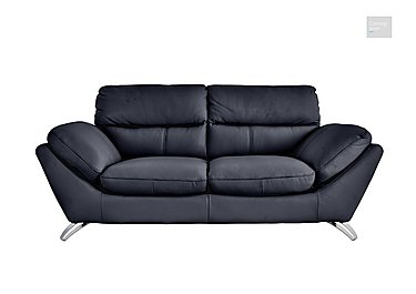 Salvador 3 Seater Leather Sofa  in {$variationvalue}  on FV