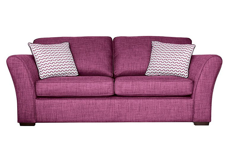 Twilight 3 seater fabric sofa bed furniture village for Furniture village sofa
