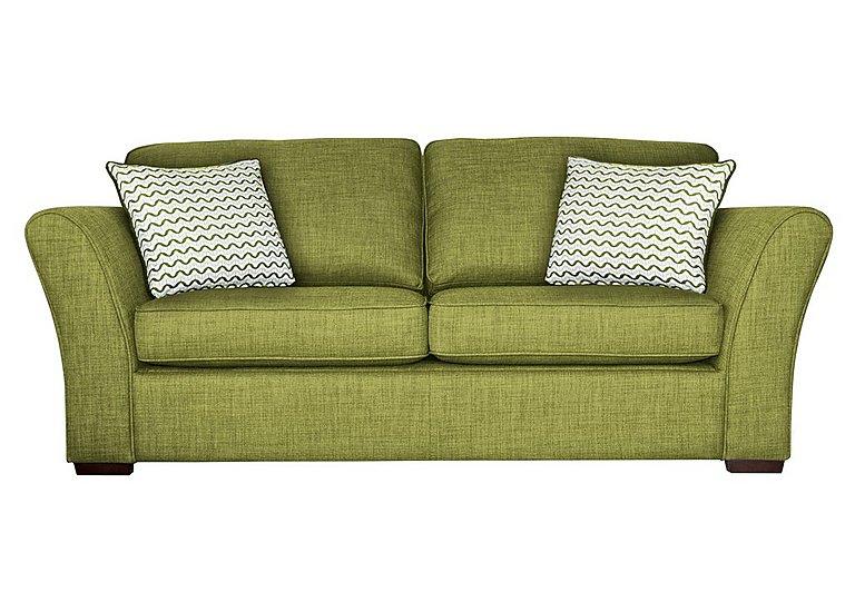Twilight 3 Seater Fabric Sofa For Go