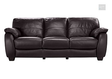 Moods 3 Seater Leather Sofa Bed  in {$variationvalue}  on FV