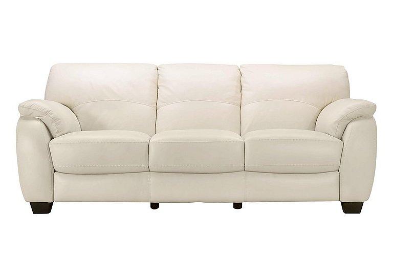 Moods 3 Seater Leather Sofa